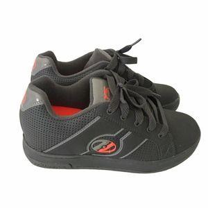 Heelys Split Youth Size 4 Gray/Orange